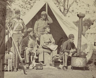 7th N.Y. State Militia, Camp Cameron, D.C., 1861 (25)