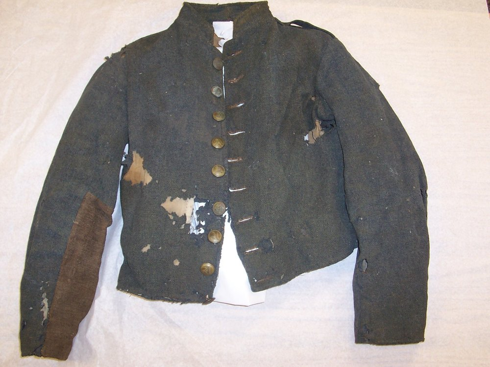 """11f9e9a47b This jacket and the one that follows (Charles A. Milhouse jacket) exhibit  some of the same """"transition"""" characteristics as the Ramsey jacket"""