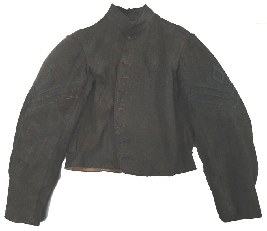 Gettysburg NPS jacket – epaulettes removed