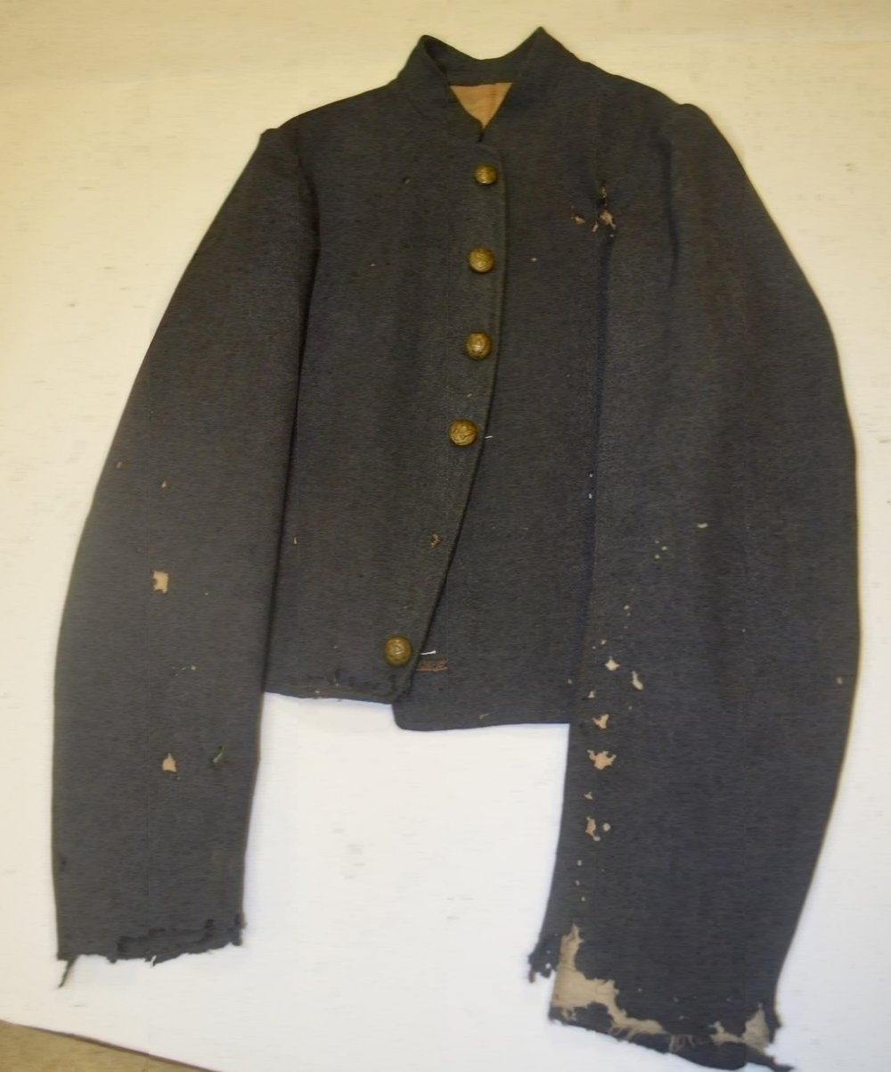 George HT Greer jacket – six button front & epaulettes removed