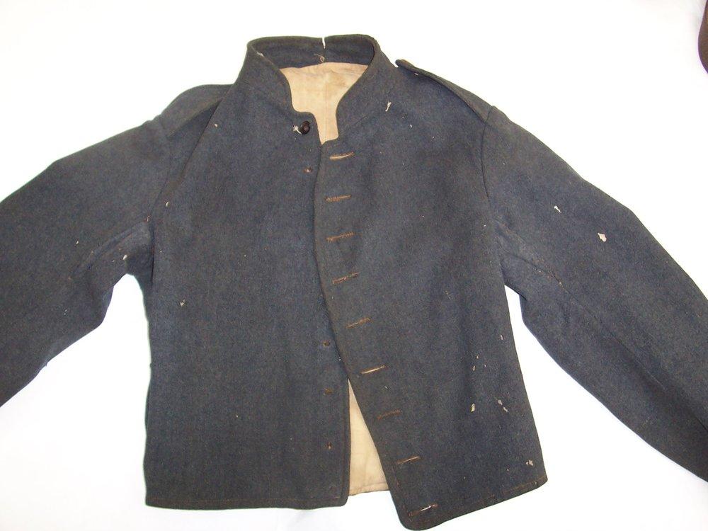 J W Brunson jacket – nearly all machine sewn