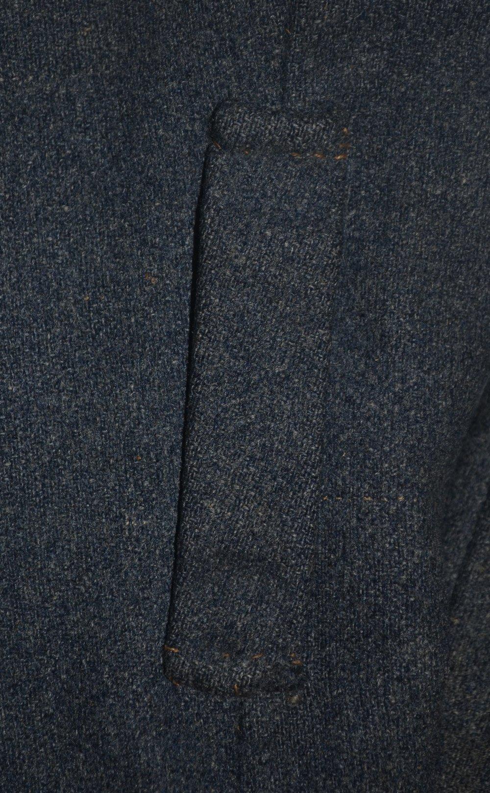 George H T Greer jacket – centered on side seam
