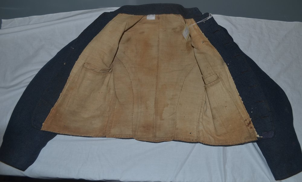 George W Wilson jacket (right pocket added later)