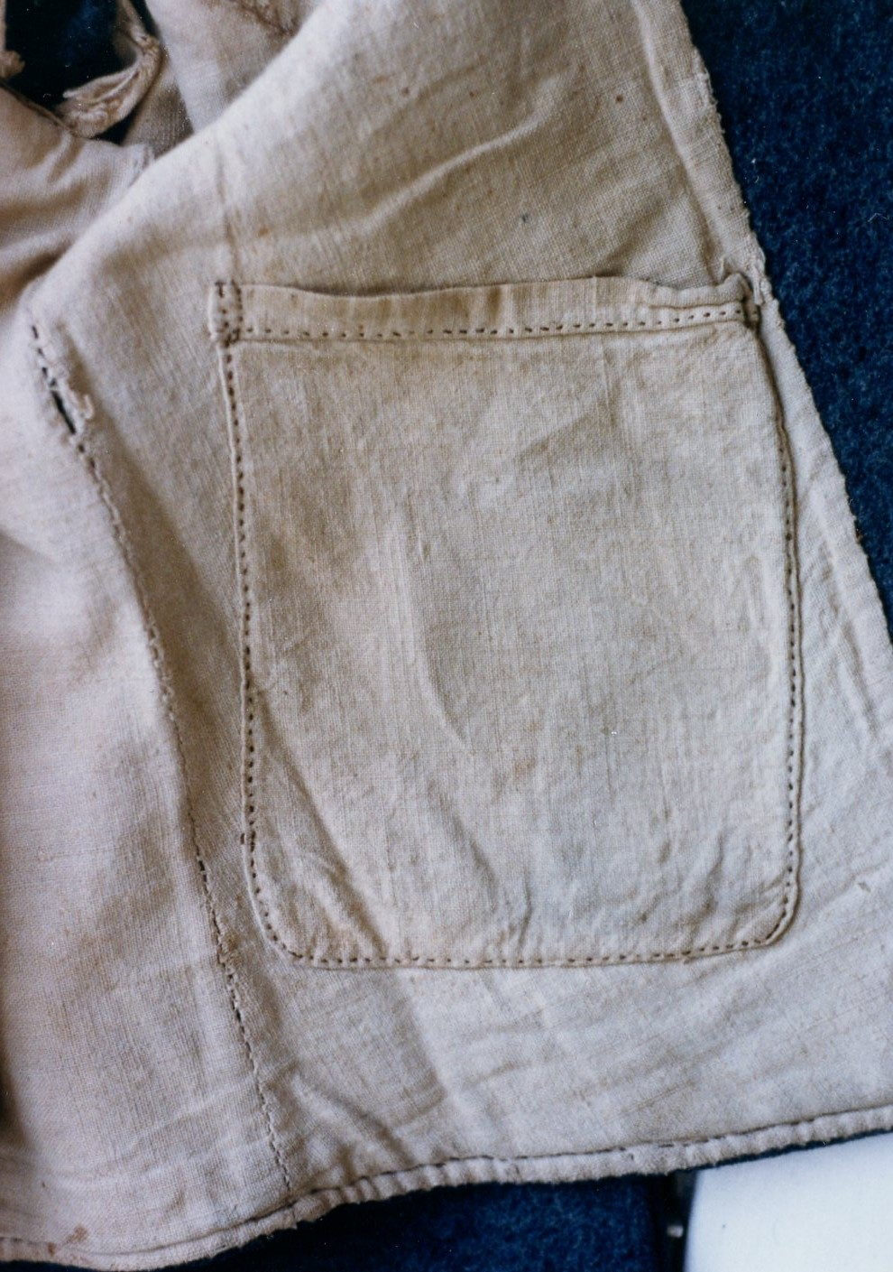"""George William Ramsey Jacket – """"as issued"""" patch style Inner pocket RCB experiment to """"simplify"""" construction or just """"seamstress choice"""" ?"""