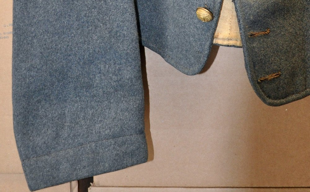 Charles S Tinges jacket (note high stitching line)