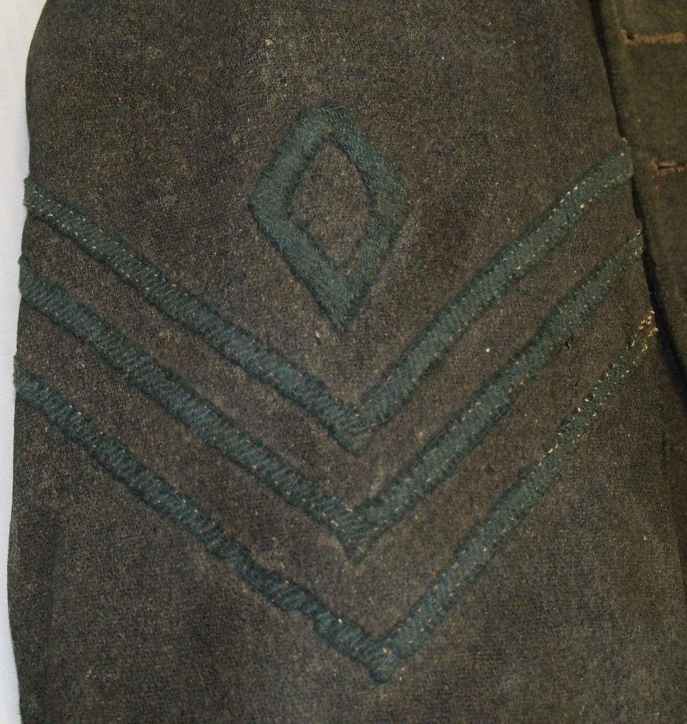 Chevrons on Gettysburg NPS jacket