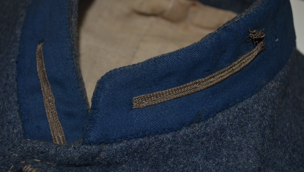 Second Lieutenant's Sleeve Braid and Collar Bars on Haines jacket