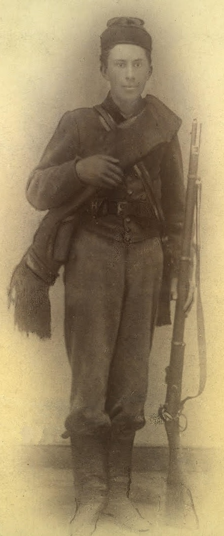 Private Kennedy Palmer, Company H, 13th Virginia Infantry