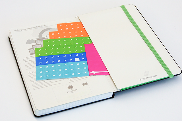 Moleskine Smart Notebook Stickers