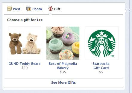 Facebook GiftsqFacebook Gifts