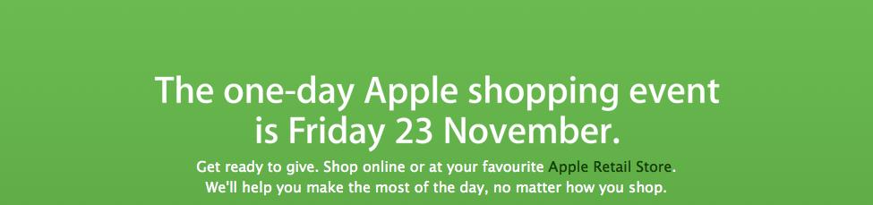 Apple Black Friday Sales UK