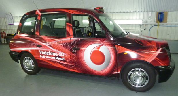 Vodafone 4G London Taxi