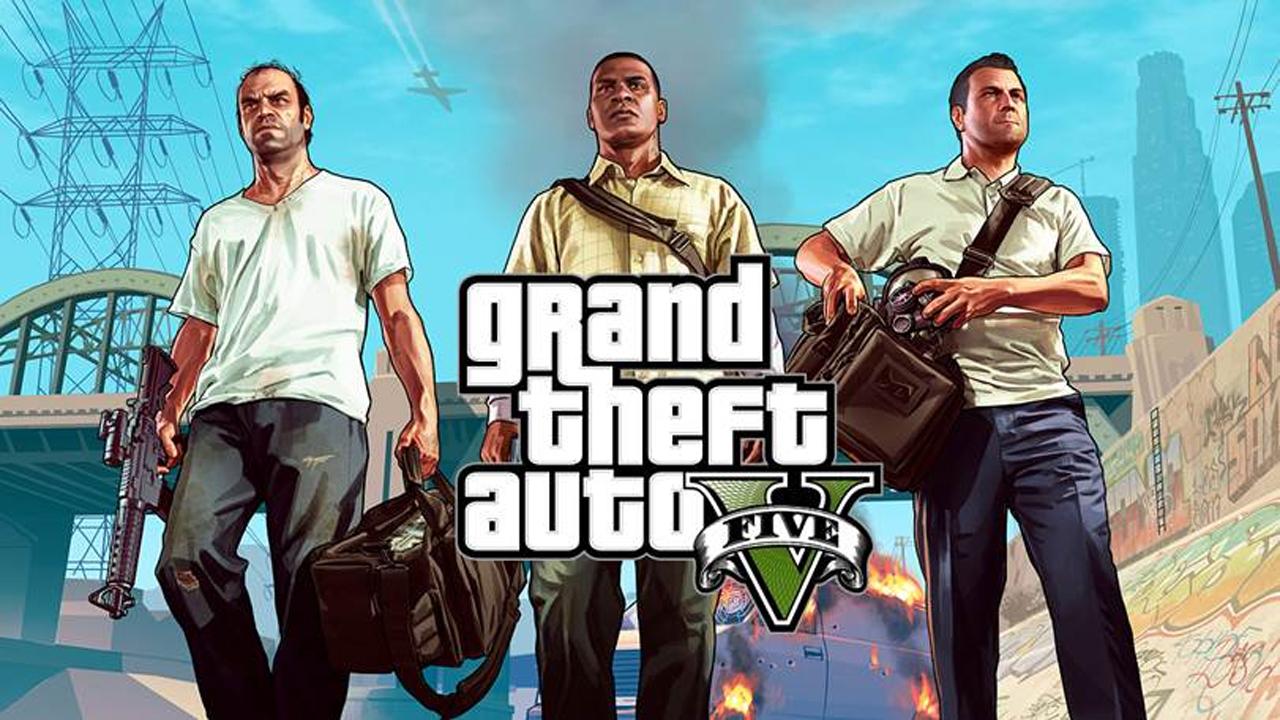 Grand Theft Auto V's Three Main Characters