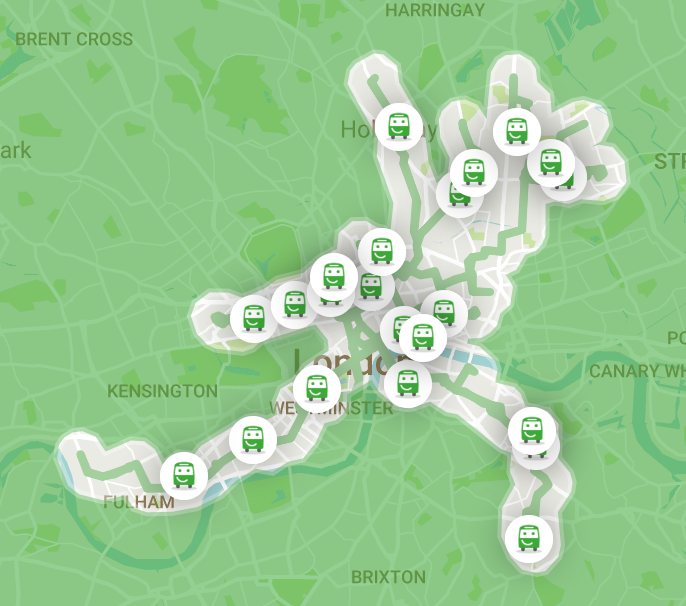 Citymapper Smart Ride Network