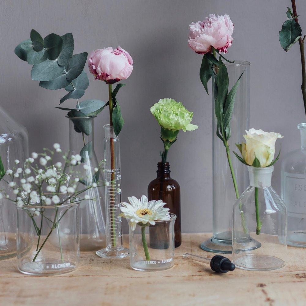 Essence Alchemy Beakers flowers.jpg
