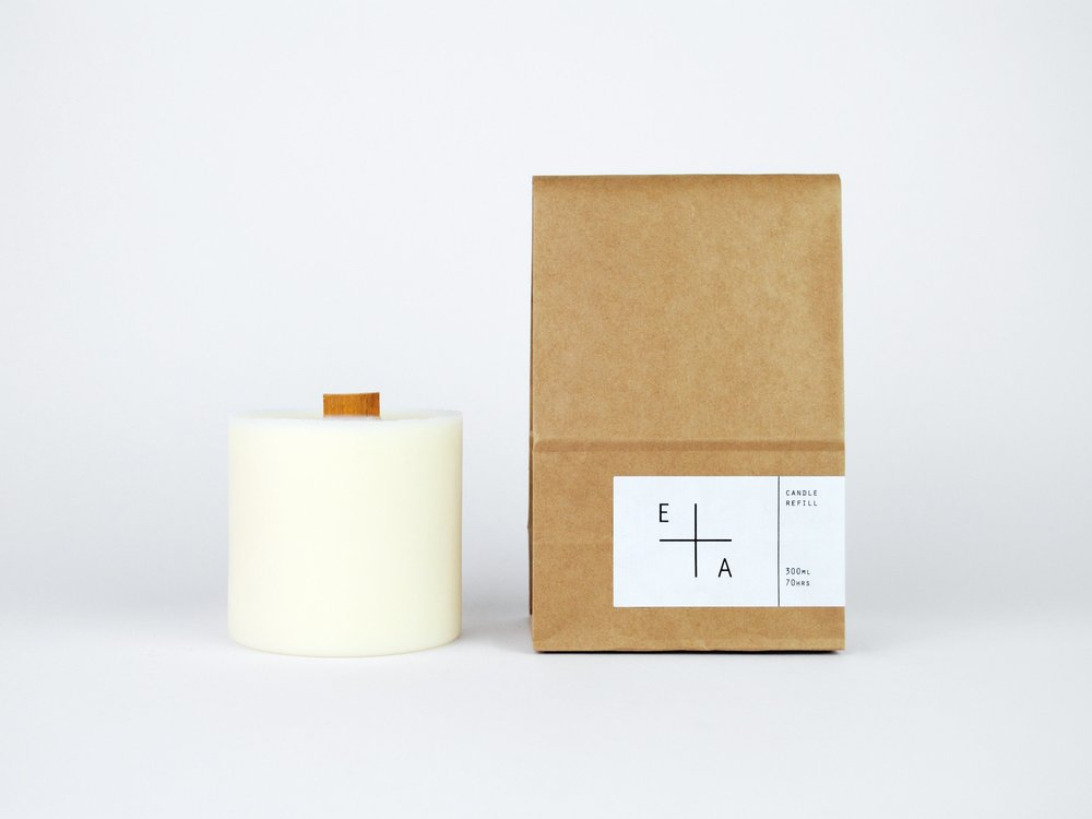 beaker candle refills - Large Refill x 6 Months