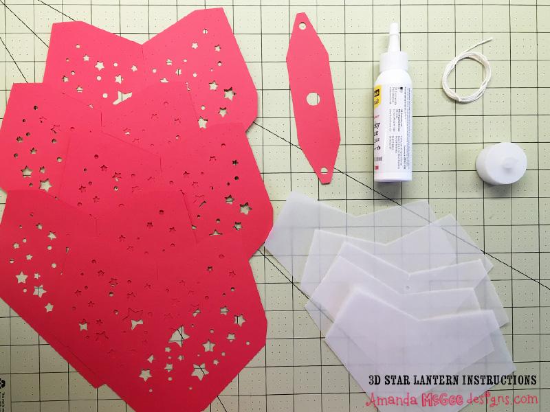 3D Star Lantern Instructions — Amanda McGee Designs