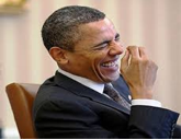 OK Barack, stop! Anne's joke about the pirate wasn't  THAT  funny!!!