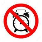 No alarm clock for a week! Yipee!!!