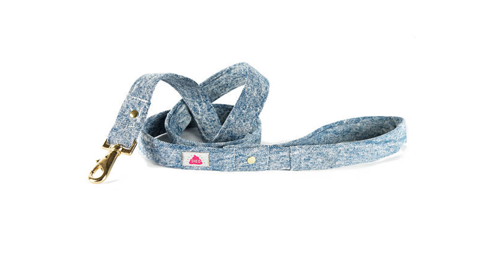Mom Jeans Recycled Denim Leash
