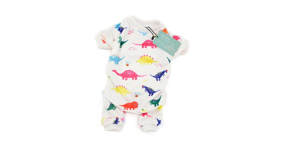 CuteBone Dino Dog Pajamas