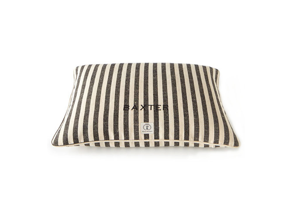 Harry Barker Small Personalized Vintage-Inspired Dog Bed