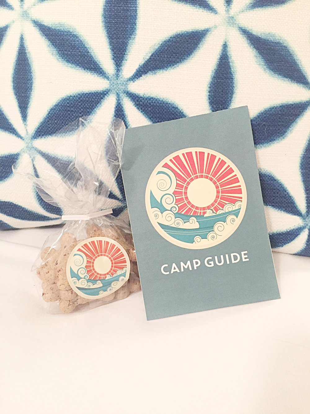 Welcome kit from Summercamp