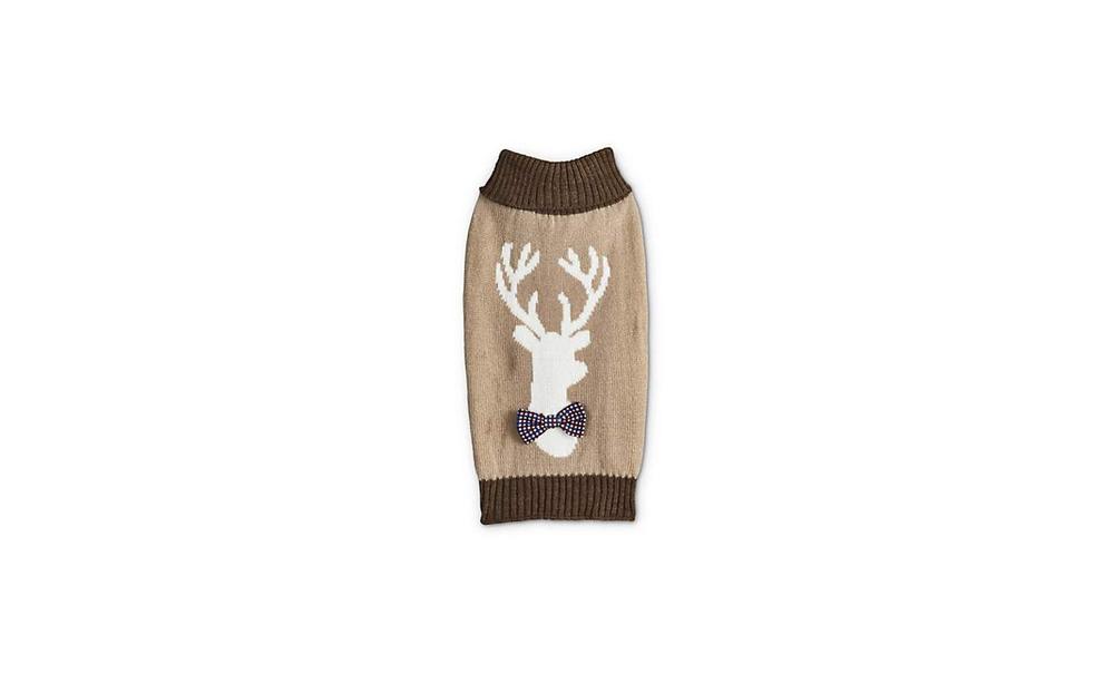 Bond & Co. Oatmeal Reindeer Sweater