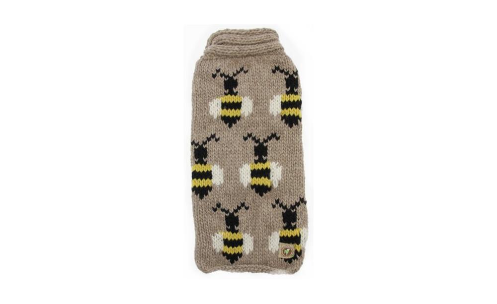Handmade Bumble Bee Wool Dog Sweater