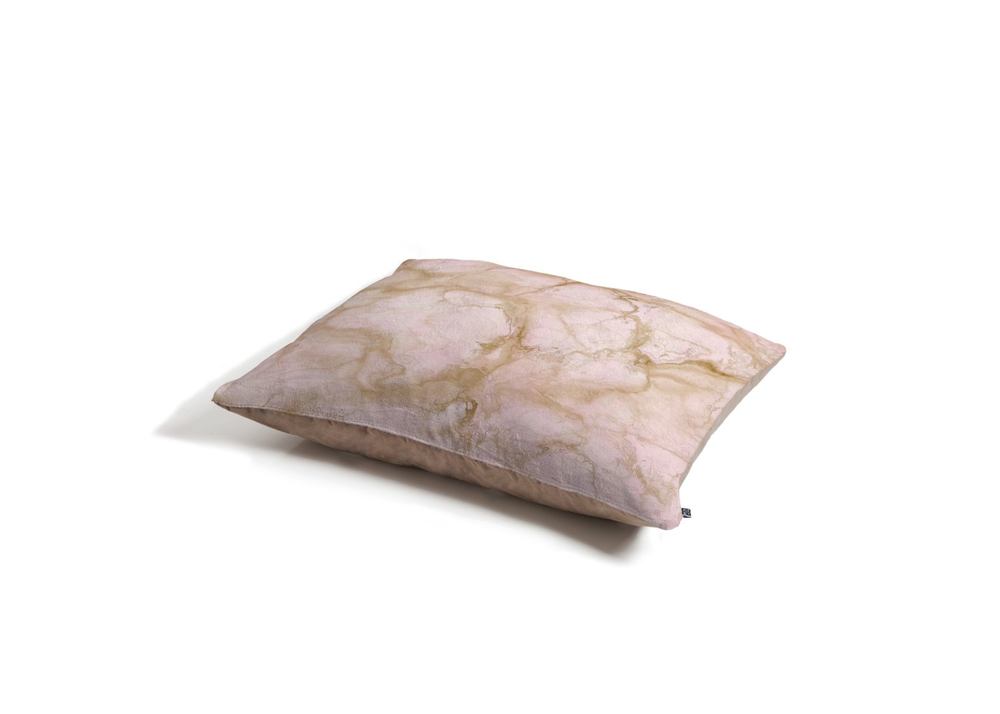 Pink Marble Pet Bed