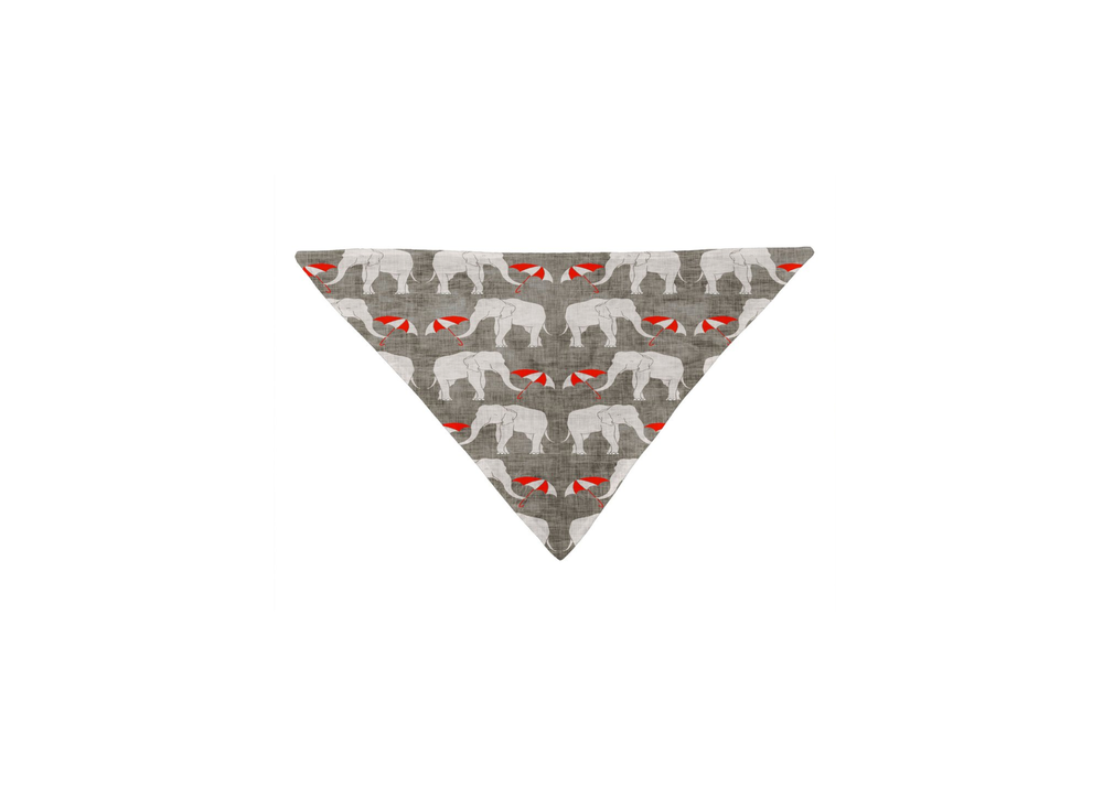 Elephant and Umbrella Bandana