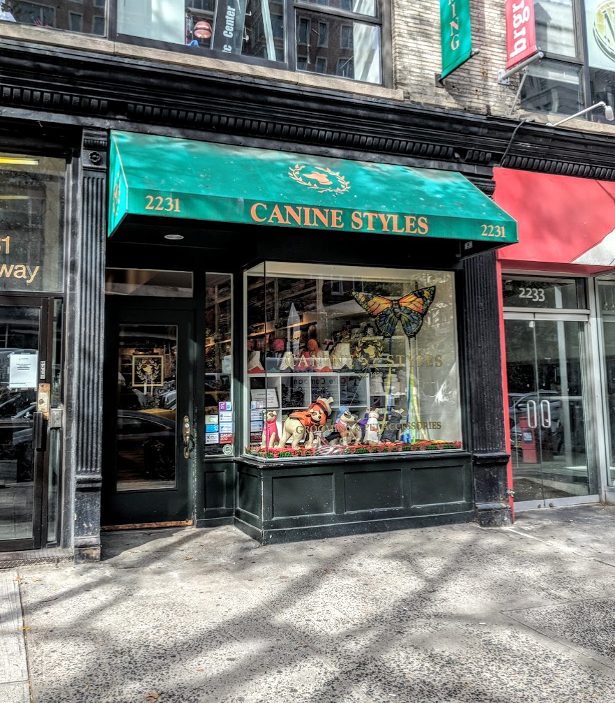 Canine Styles:  Best Dog Stores in NYC