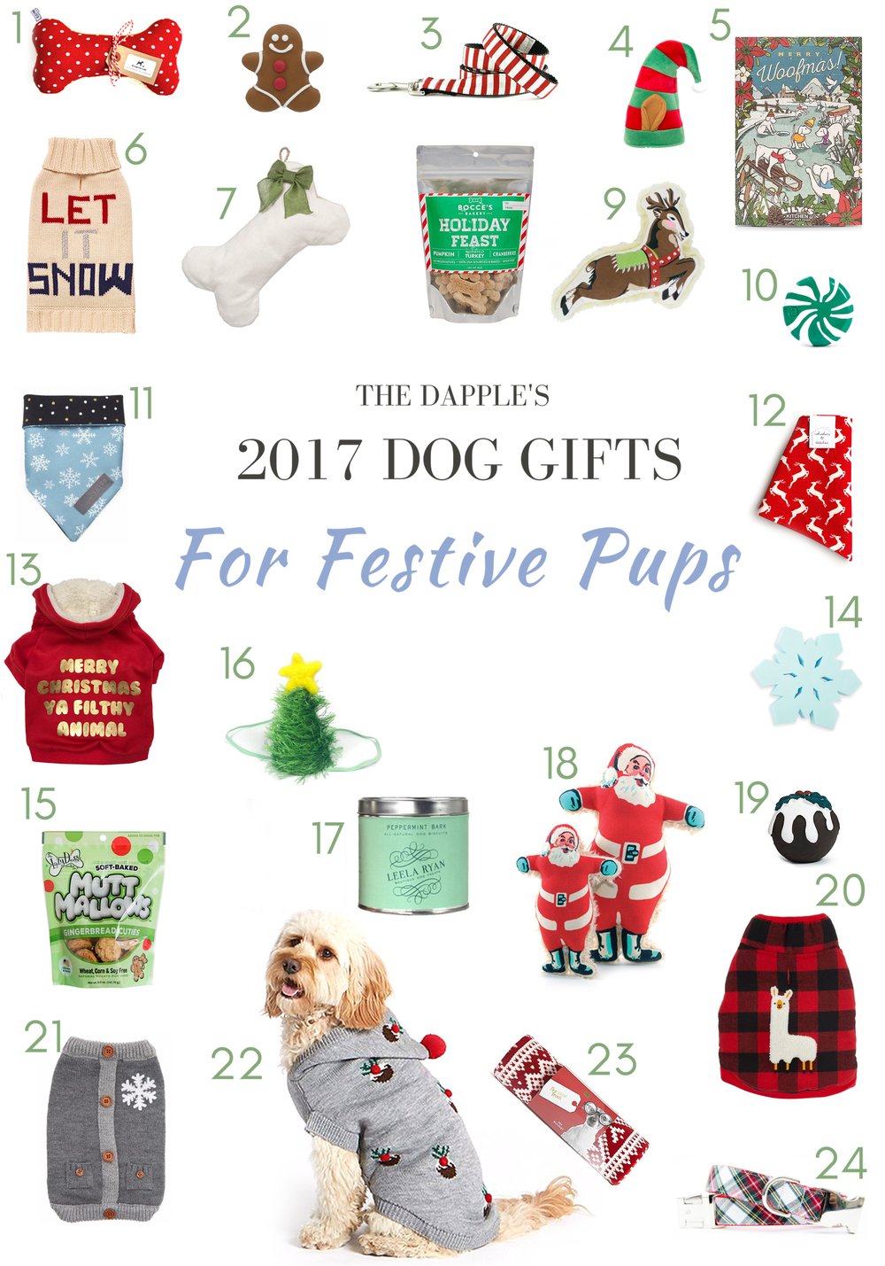 The Best Christmas Gifts for Dogs