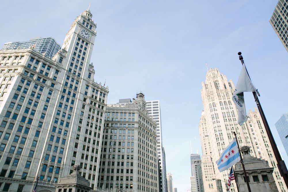 Chicago sunshine