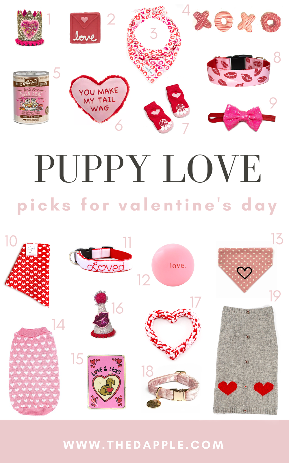 Valentine's Day for Dogs Gifts