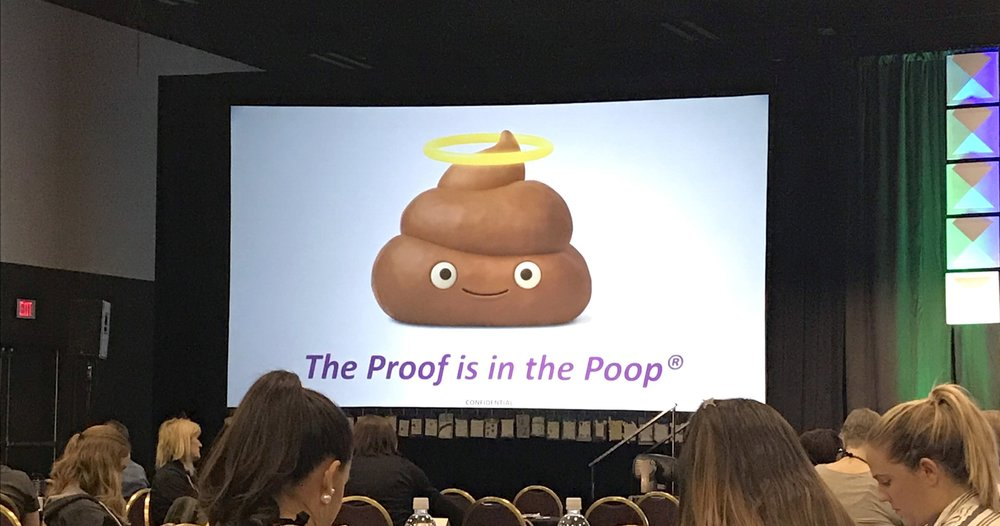 Pet conference humor 💩
