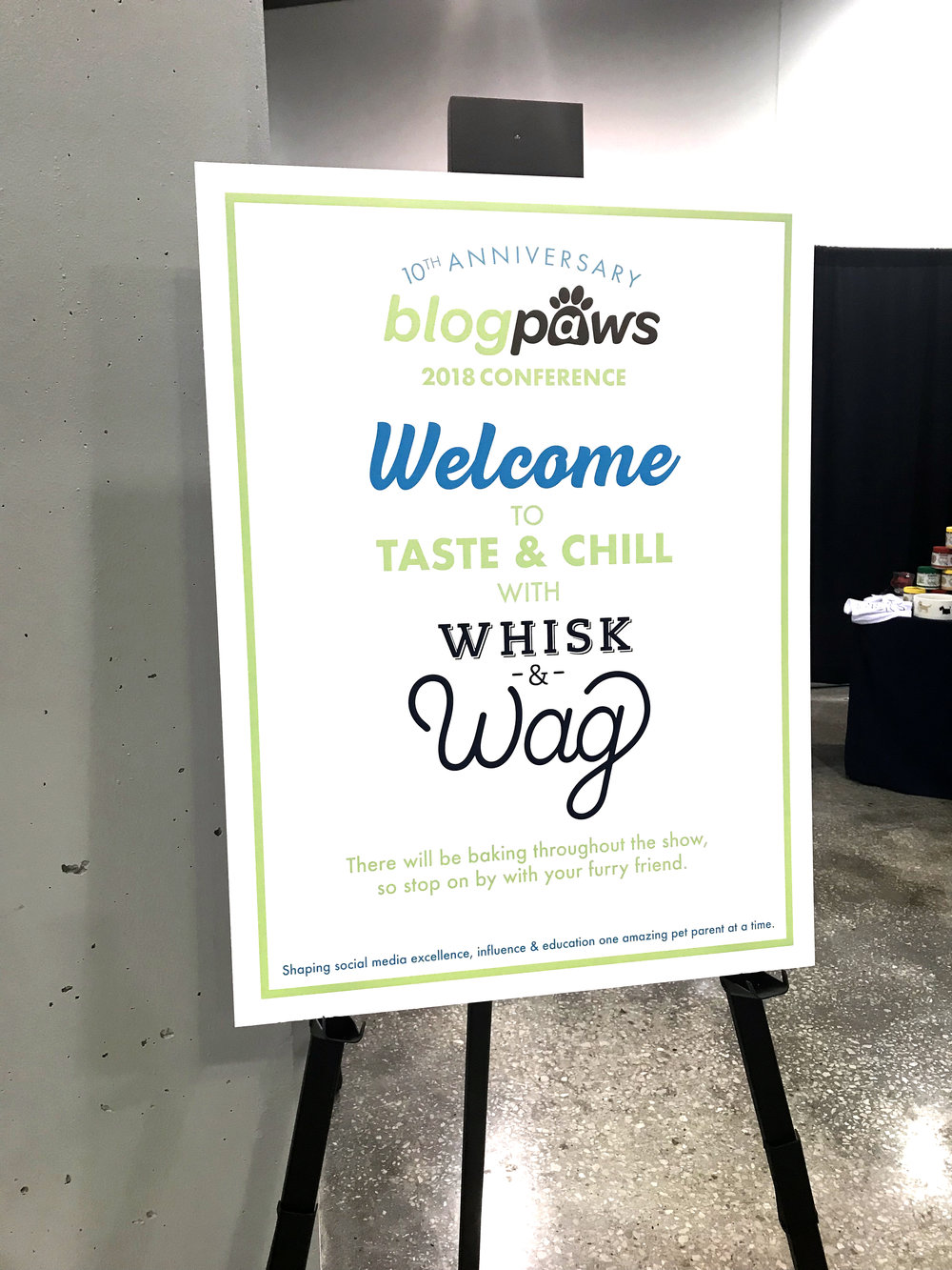 Whisk & Wag at BlogPaws