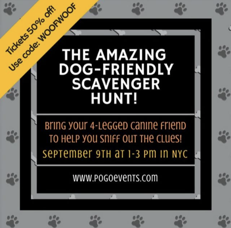 Dog Friendly Scavenger Hunt in NYC