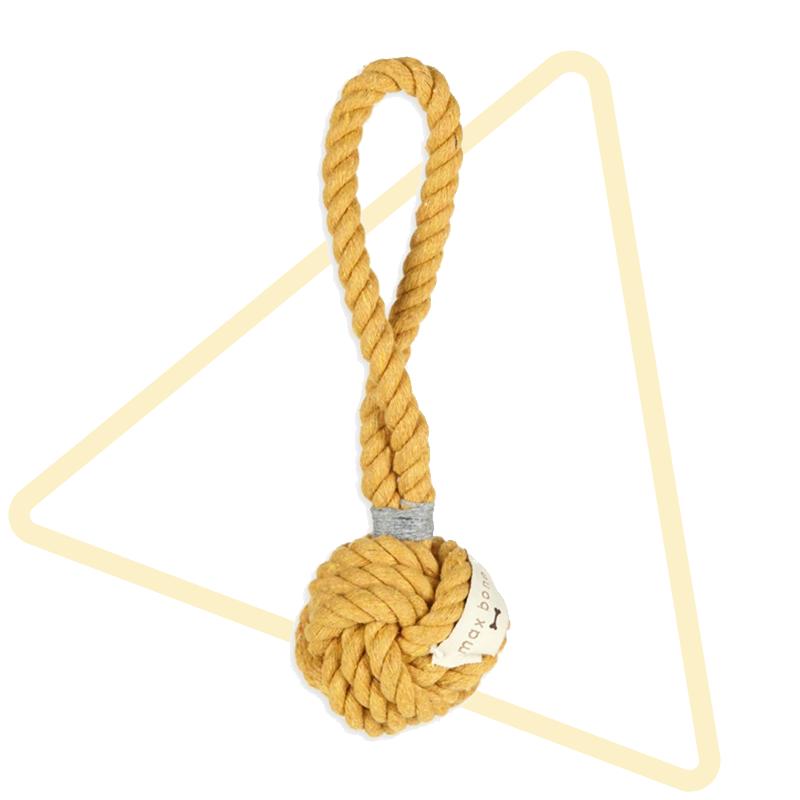 Max-Bone Mini Hobie Sun Rope Toy