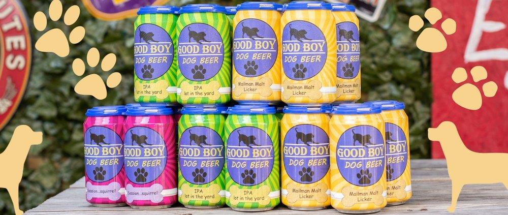 Image courtesy of Good Boy Dog Beer