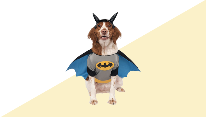 Batman Dog Halloween Costume from Amazon