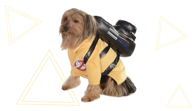 Ghostbusters Dog Halloween Costume from Chewy