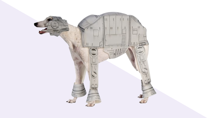 Imperial Walker Dog Halloween Costume from Chewy