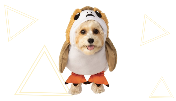Porg Dog Halloween Costume from Chewy
