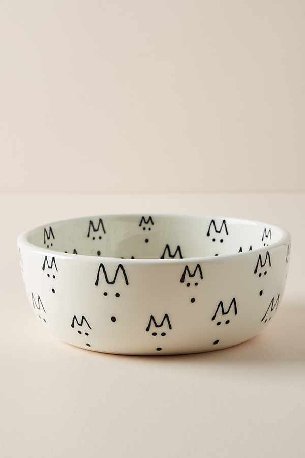 Una Dog Bowl - The Best New Dog Items at Anthropologie