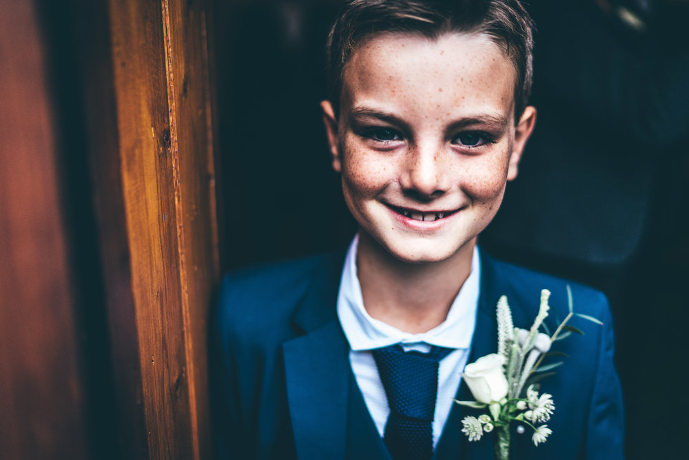 Dapper kid at Winters Barns