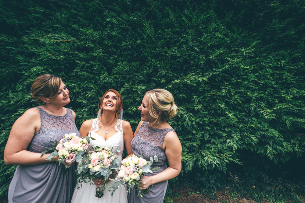 Bridesmaids at Winters Barns