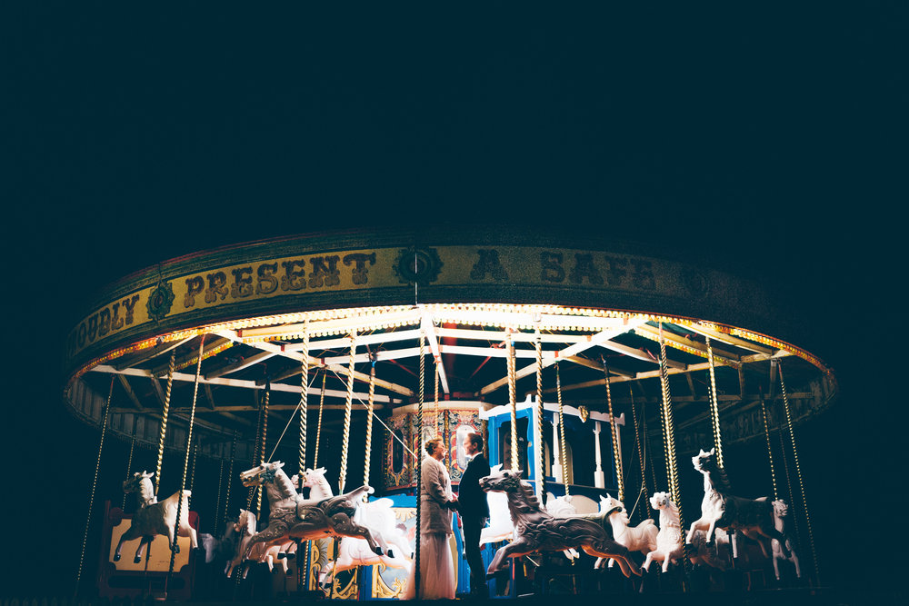 Late night carousel photo