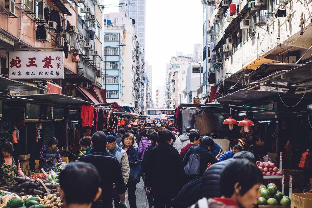 Mongkok Food Market