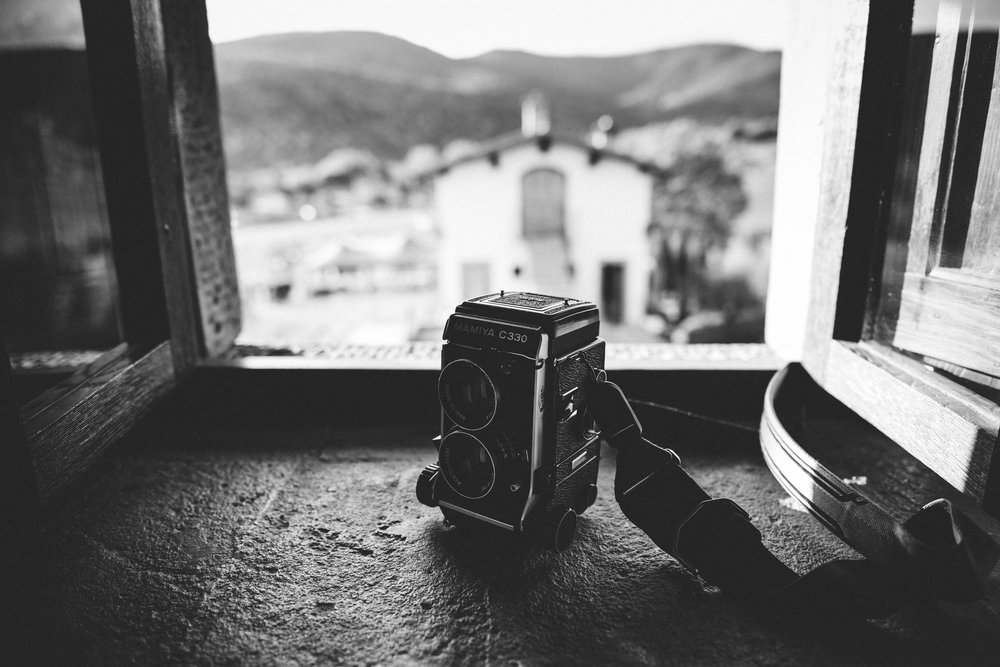 Mamiya C330 Medium format film camera